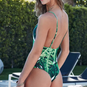 Palm Print One Piece - Avalon88