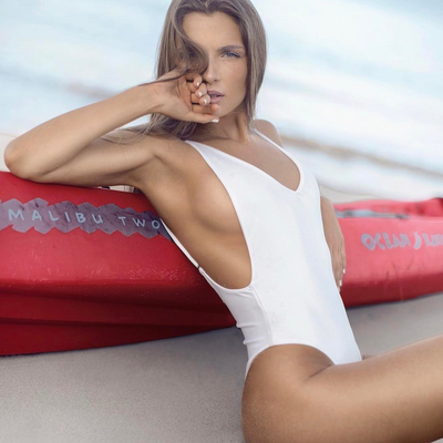 Amalfi White One Piece