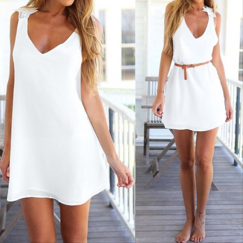 Flowerbomb White Dress - Avalon88