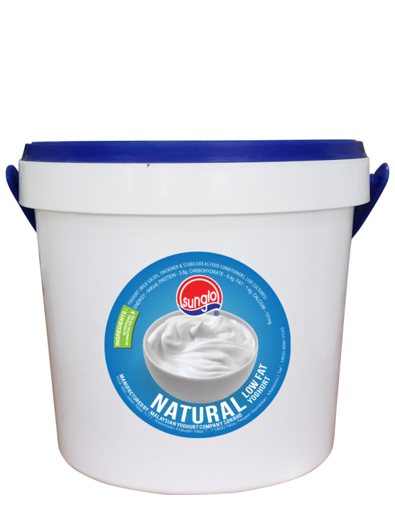 SUNGLO 1.4KG NATURAL LOW FAT YOGHURT