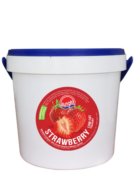 SUNGLO 1.5KG STRAWBERRY YOGHURT