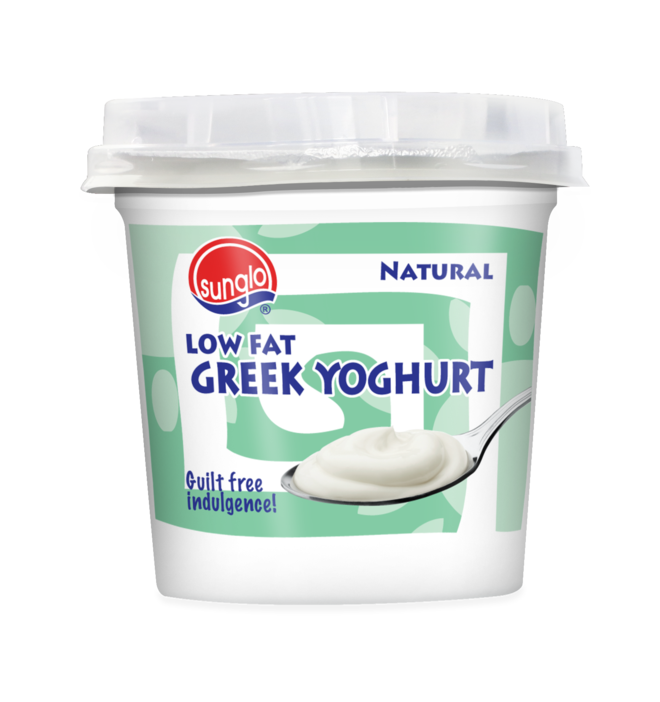 SUNGLO 135G  LOW FAT GREEK YOGHURT ( WITH MUESLI )
