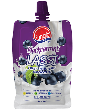 SUNGLO 200G BLACKCURRANT LASSI