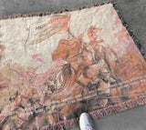 joan of arc woven throw