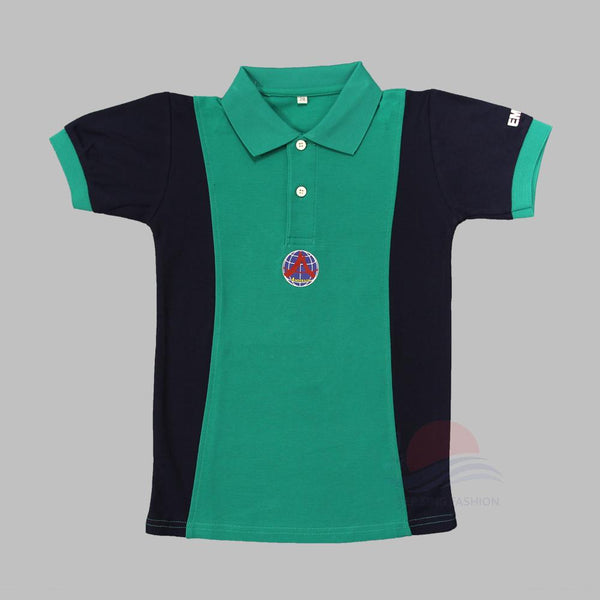 ADPS Green PE T-Shirt front view