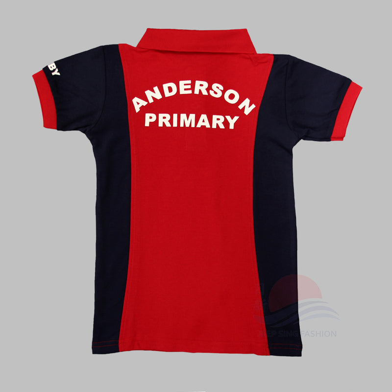ADPS Red PE T-Shirt (Back view)