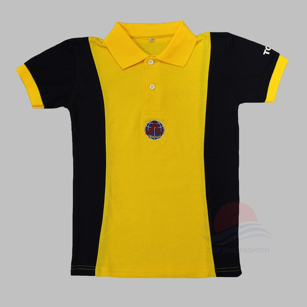 ADPS Yellow PE T-Shirt (Front view)