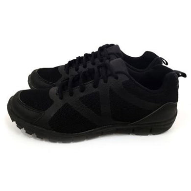 Black lace school shoes first view