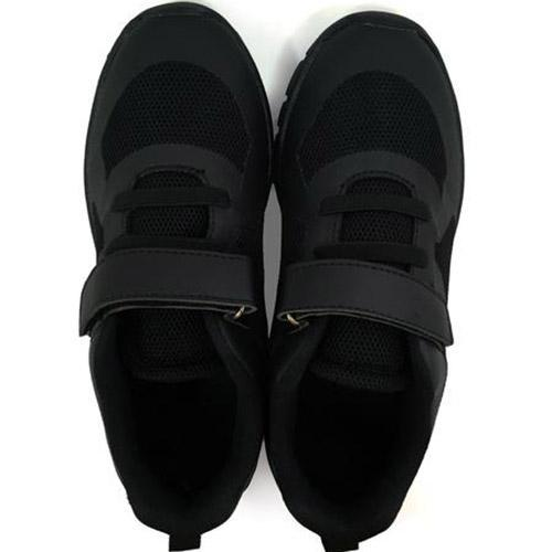 LSPS Black Shoes - Velcro 28 to 36 (N)