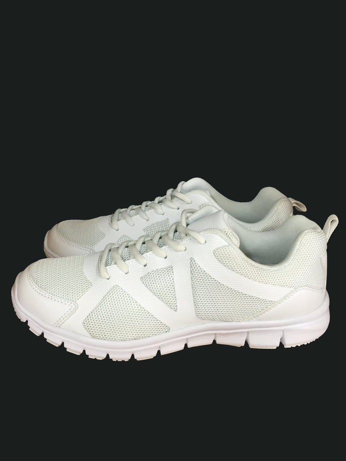 KHS White Shoes -  Lace 36 to 45 (N)