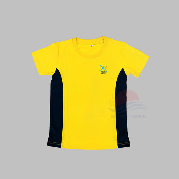 LSPS Navy PE T-Shirt (Front view)