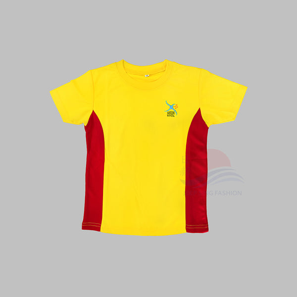LSPS Red PE T-Shirt (Front view)