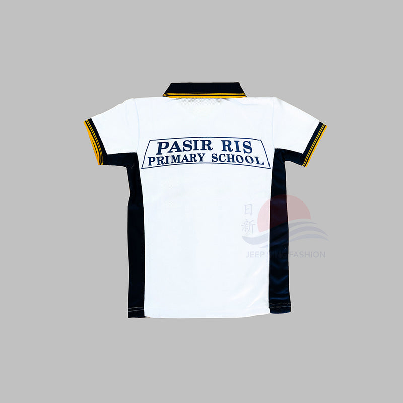 PRPS White PE T-Shirt (Back view)