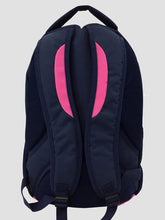 Load image into Gallery viewer, Pink School bag back view