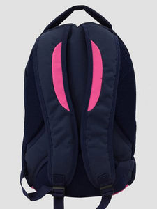 Pink School bag back view