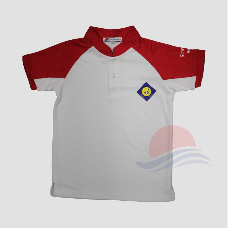 SKPS Red House PE T-Shirt Front view