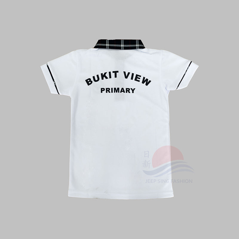 BVPS 2-in-1 Polo Tee (Back view)