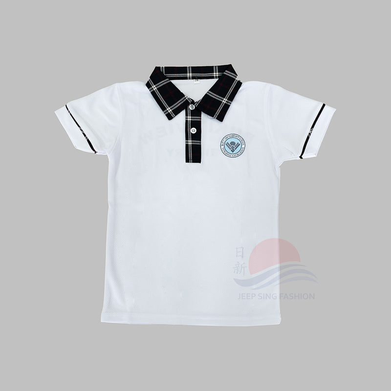 BVPS 2-in-1 Polo Tee (Front view)