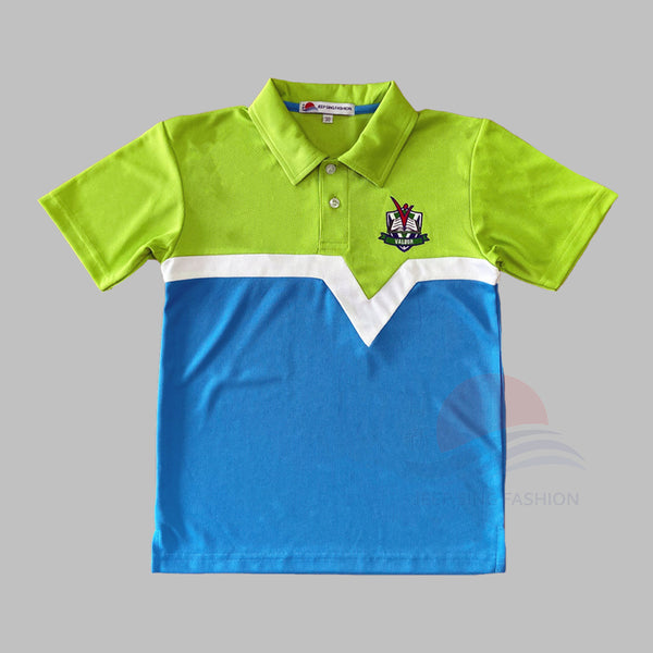 VPS 2-in-1 Polo Tee (Unisex) front view