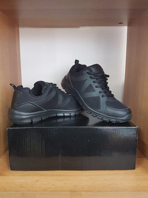 BVPS Black Shoes - Lace 36 to 46 (N)