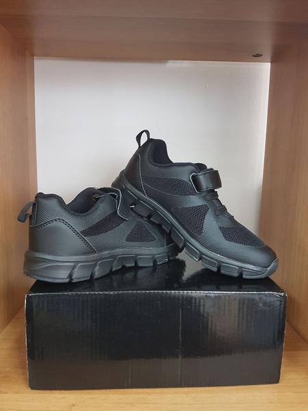 XSPS Black Shoes - Velcro 28 to 36