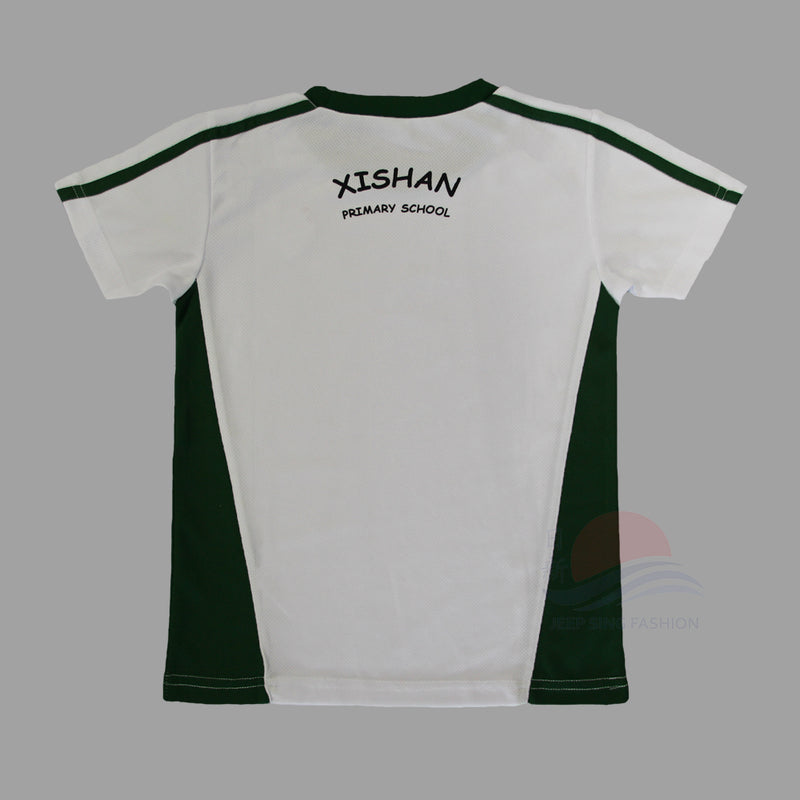 XSPS Green PE T-Shirt (Back view)