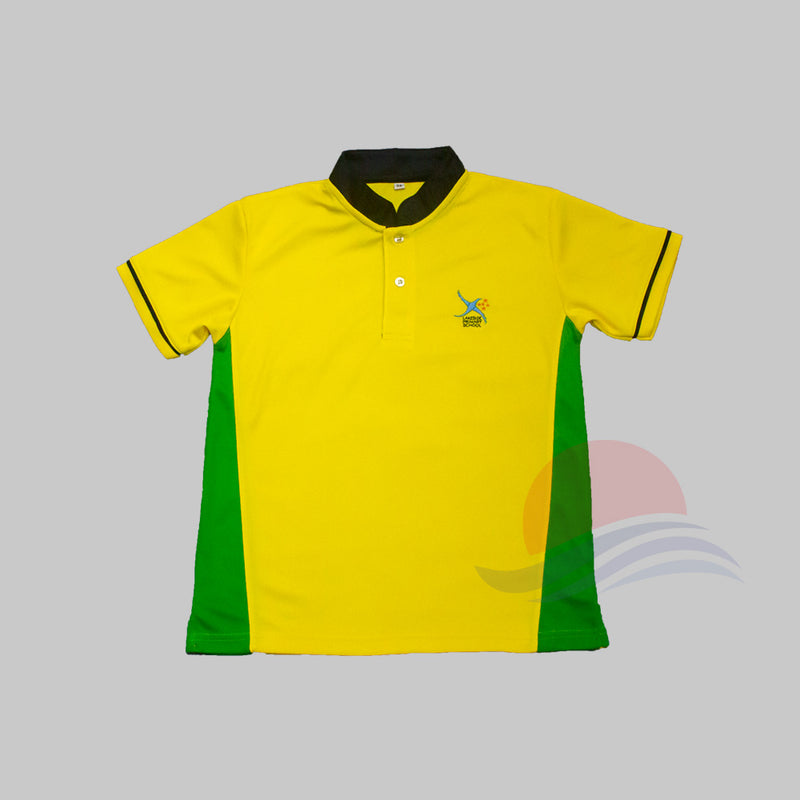 LSPS Green Collar PE T-Shirt Front view