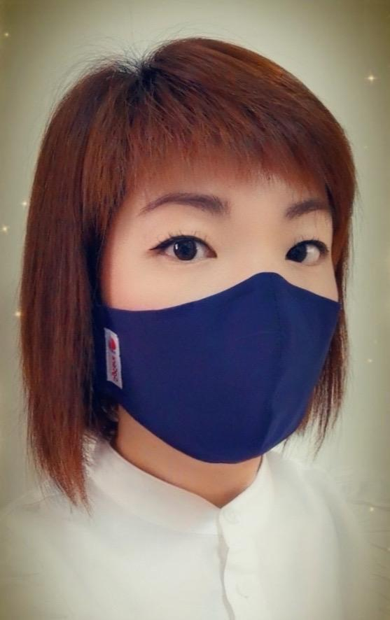 Adult face mask model