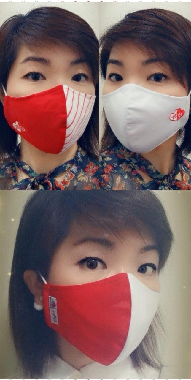 NDP Masks 2020 SG55 collage with model