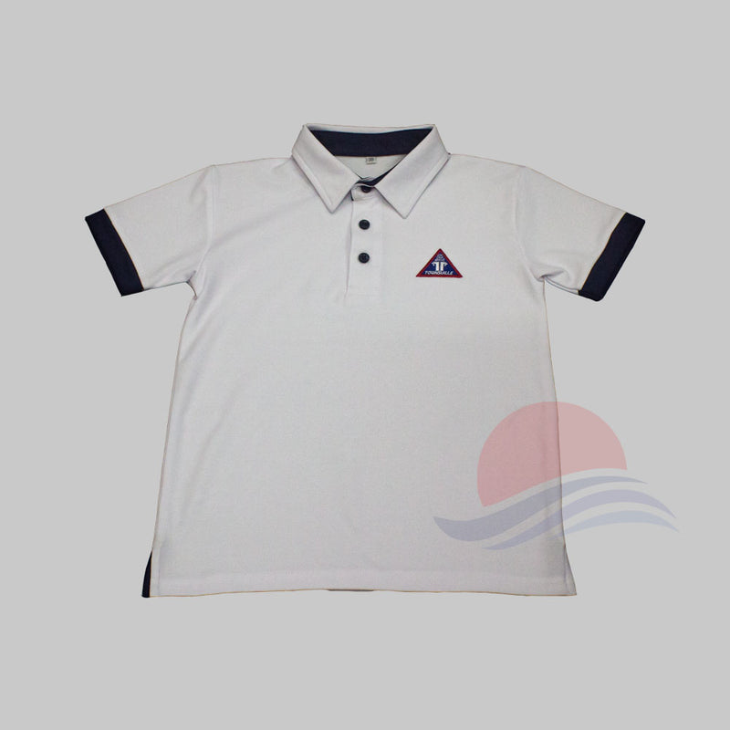 TVPS Polo Tee Front View