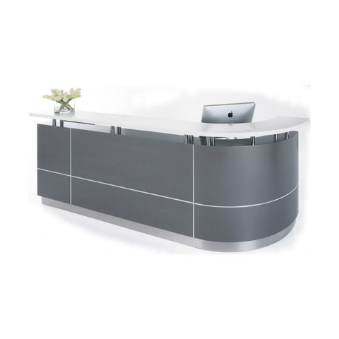 Executive J Shaped Reception Counter