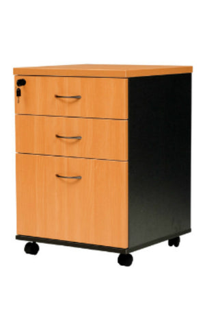 Logan Mobile Pedestal 2 Drawer and File