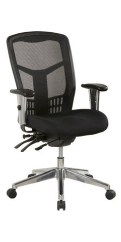 Oyster Mesh Back Chair