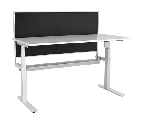 Rapid Paramount Height adjustable Desk with Screen