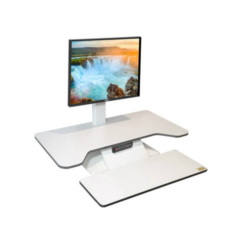 Standesk Pro Memory with keyboard