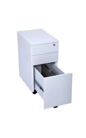 GSP3 Slimline 3 Drawer Mobile pedestal