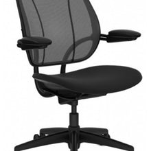 HUMANSCALE CHAIR LIBERTY OXYGEN BLK