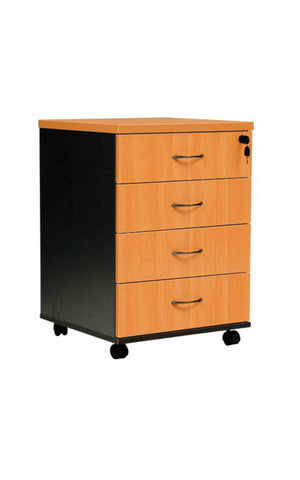 Logan Mobile Pedestal - 4 Drawers