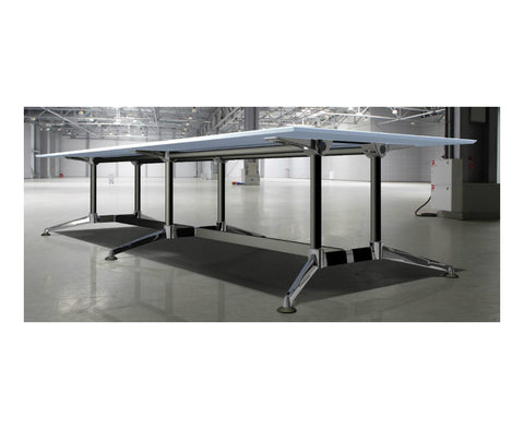 Modulus, Twin Post, Double Span Boardroom table