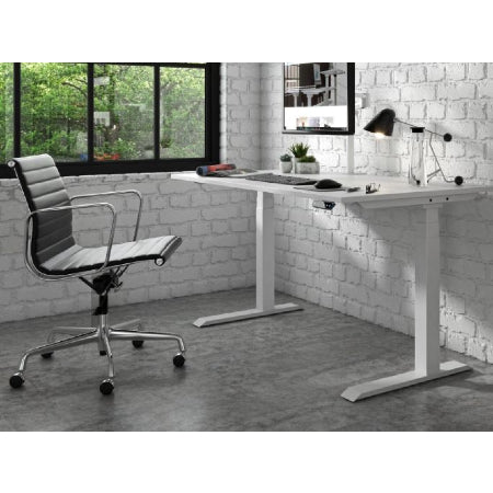 Vision Electric Height Adjustable Straight Desk