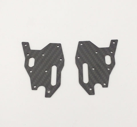 J5D RC8B3/RC8B3.1 Front Lower Arm Stiffeners