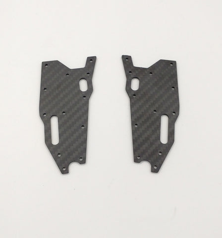 J5D RC8T3/RC8T3.1 Front Lower Arm Stiffeners