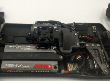 J5D Spur Cover/Fan Mount Combo for the XRAY XB4