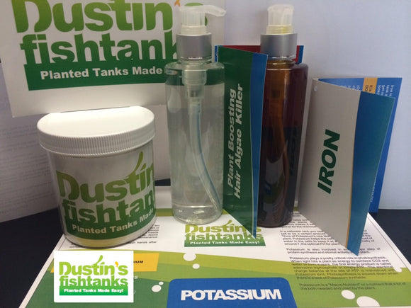 Aquarium Plant Fertilizer Package for sale. Dustin's Fishtanks