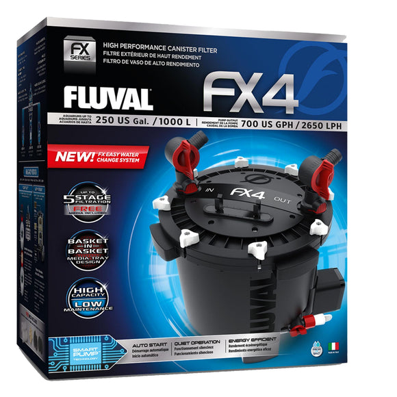 Fluval FX4 (The Ultimate Canister Filter)