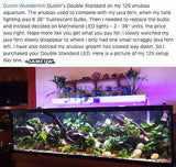 "Standard Double LED - ""The Standard in Planted Aquarium Lighting"""