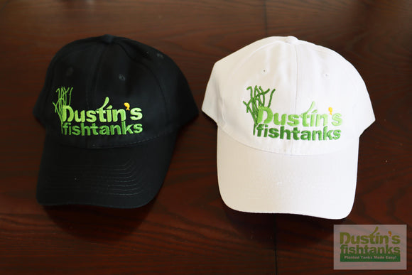 HATS! Dustin's FishTanks Logo with Crinum Natans Hat
