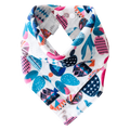 Pikku Baby | Muslin Bandana Bibs | Painted Stones Collection | Watermelon