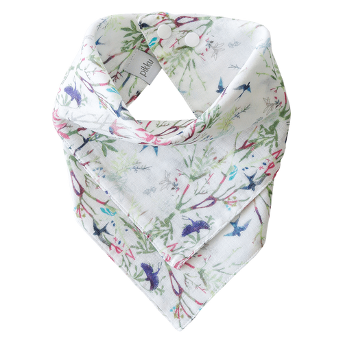 Pikku Baby | Muslin Bandana Bibs | Swallows Collection | Spring
