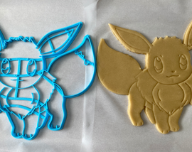 12 Inch Eevee Cookie Cutter -  Cookie Cake  - Pokemon Gen 1